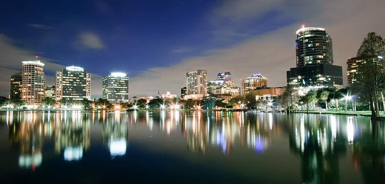 Orlando Night Skyline