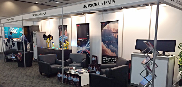 Safegate Group Stand at Hobart AAA