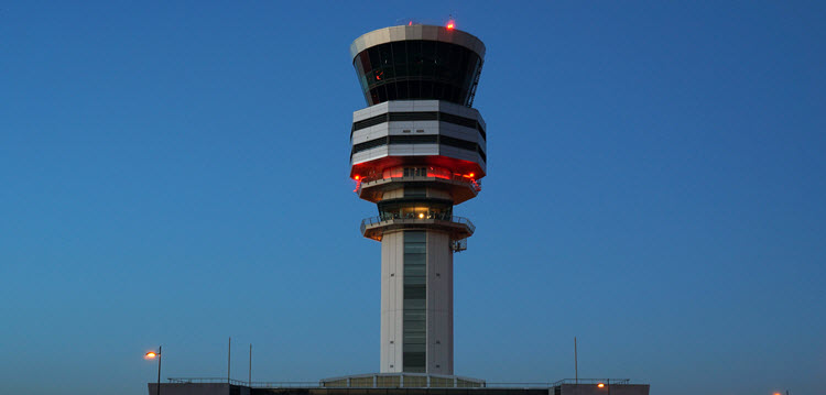 Brussels Airport Control Tower