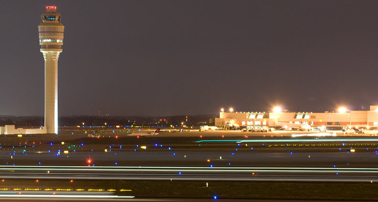 Hartsfield-Jackson Atlanta International Airport (ATL) recently completed two massive projects to relight and remark its airfield
